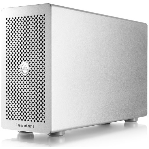 AKiTiO Thunder3 PCIe Box-product is niet compatibel met Mac-EOL