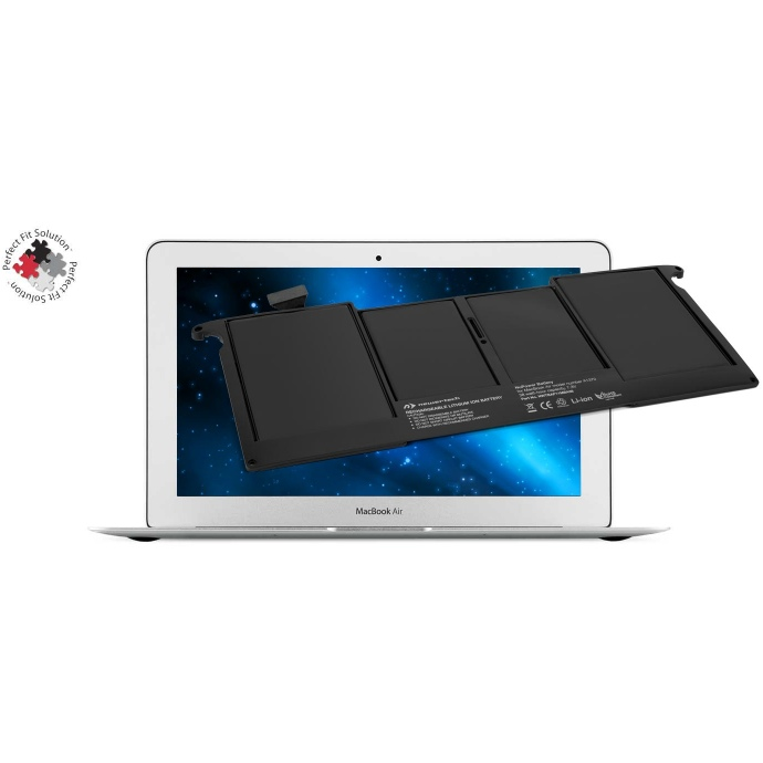 "Accu 38W voor MacBook Air 11"" 2010 + Tools-NewerTech"