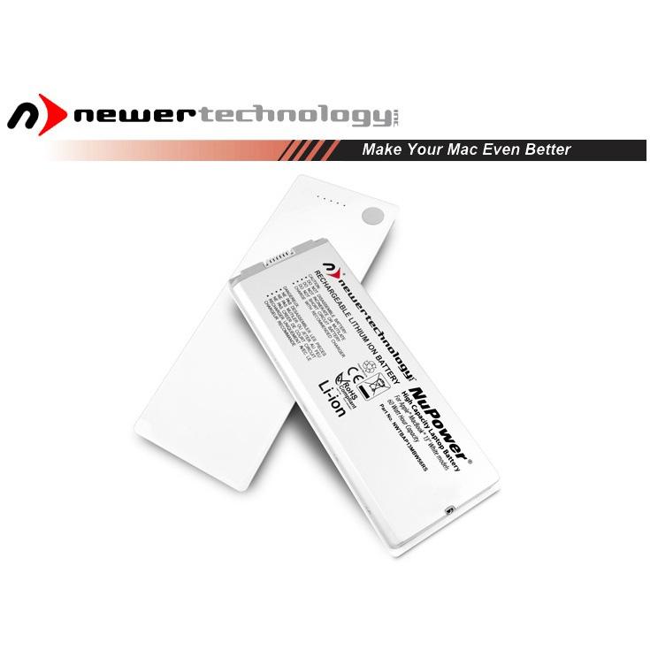 "Accu 60.5W voor Apple MacBook 13"" wit-16.05.2006 t/m 27.05.2009-NewerTech"