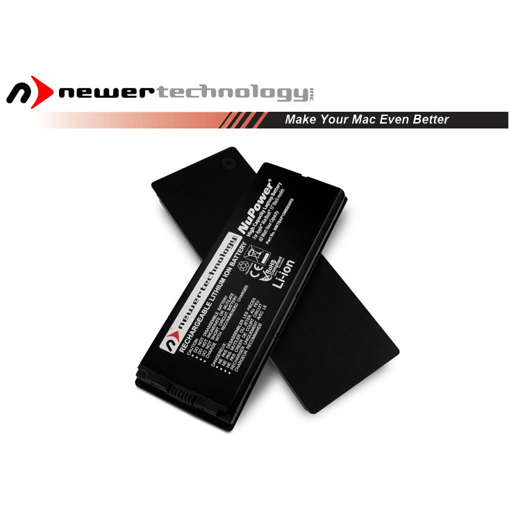 "Accu 60.5W voor Apple MacBook 13"" zwart-16.05.2006-14.10.2008-NewerTech"
