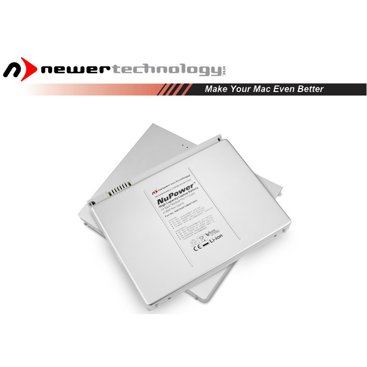 "Accu 60W voor Apple MacBook Pro 15.4"" non-Unibody alu.-NewerTech"