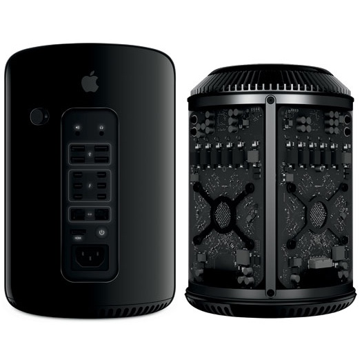 Apple Mac Pro6,1 3,5GHz 6-core 32GB/1TB flash/2x GPU D500 3GB - NIEUW