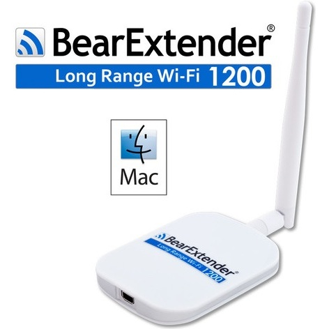 BearExtender 1200 voor Mac - WiFi USB adapter