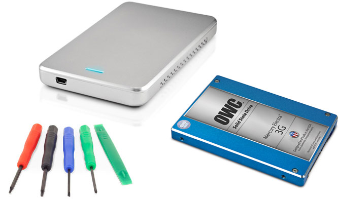 OWC DIY Upgrade Bundle: 240GB Mercury Electra 3G Solid State Drive