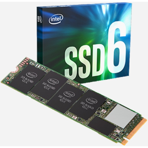 Intel 660P M.2 1TB SSD voor Apple Mac Pro4,1 2009 en 5,1 2010/2012+adapter