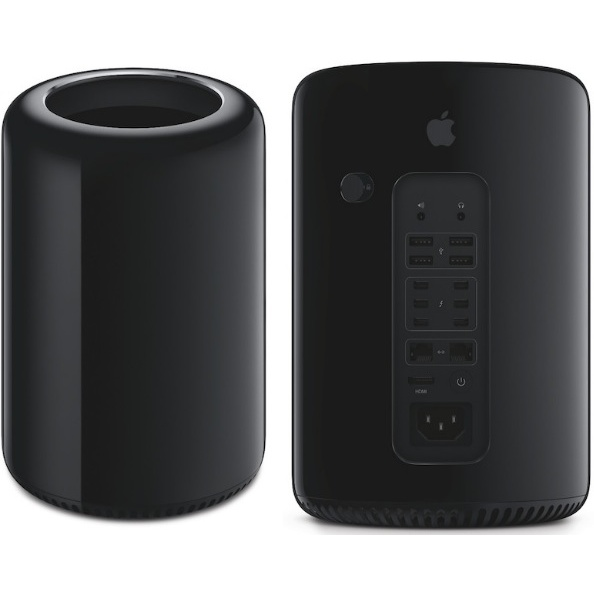 Apple Mac Pro6,1 2,7GHz 12-core 16GB/256GB flash/2x GPU D500 3GB (standaard