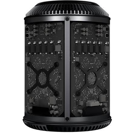 Apple Mac Pro6,1 3,0GHz 8-core 32GB/1 TB flash/2x D700 6GB/ACR
