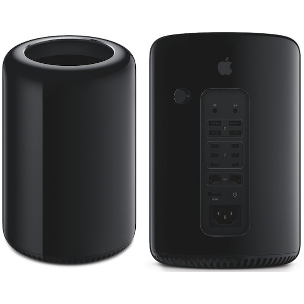 Apple Mac Pro6,1 3,5GHz 6-core 32GB/1 TB flash/2x GPU D500 3GB/CTO
