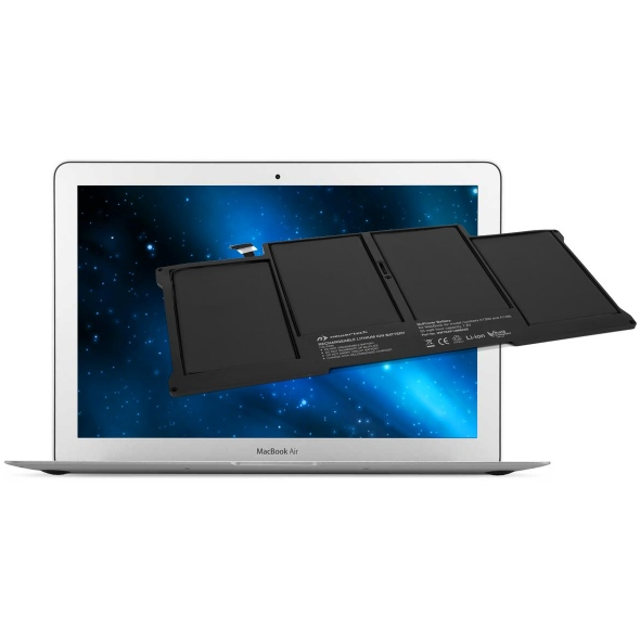 "Accu 55W voor MacBook Air 13"" 2010-2014 + Tools-NewerTech"