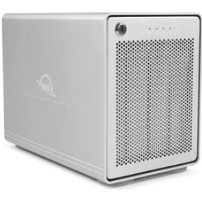 OWC Mercury Elite Pro Quad 8.0TB HDD-opslagoplossing-4 drives-USB 3.1 Gen 2