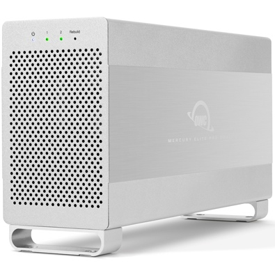 OWC Mercury Elite Pro Dual  performance RAID behuizing - USB3.1 / eSATA
