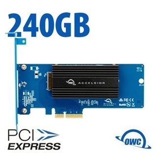 OWC Accelsior 1M2 240 GB PCIe NVMe SSD-opslagoplossing