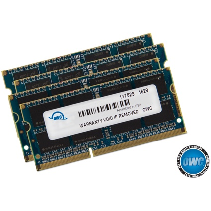 Geheugen OWC 64GB Kit (4x16GB) SO-DIMM PC3-14900S 1867MHz - iMac17,1