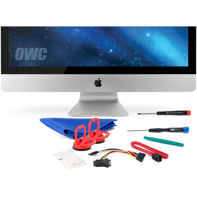 "OWC DIY interne SSD add-onkit voor alle 27"" Apple iMac (medio 2010)"