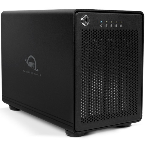 OWC ThunderBay 4 TB3 16TB + SoftRAID XT