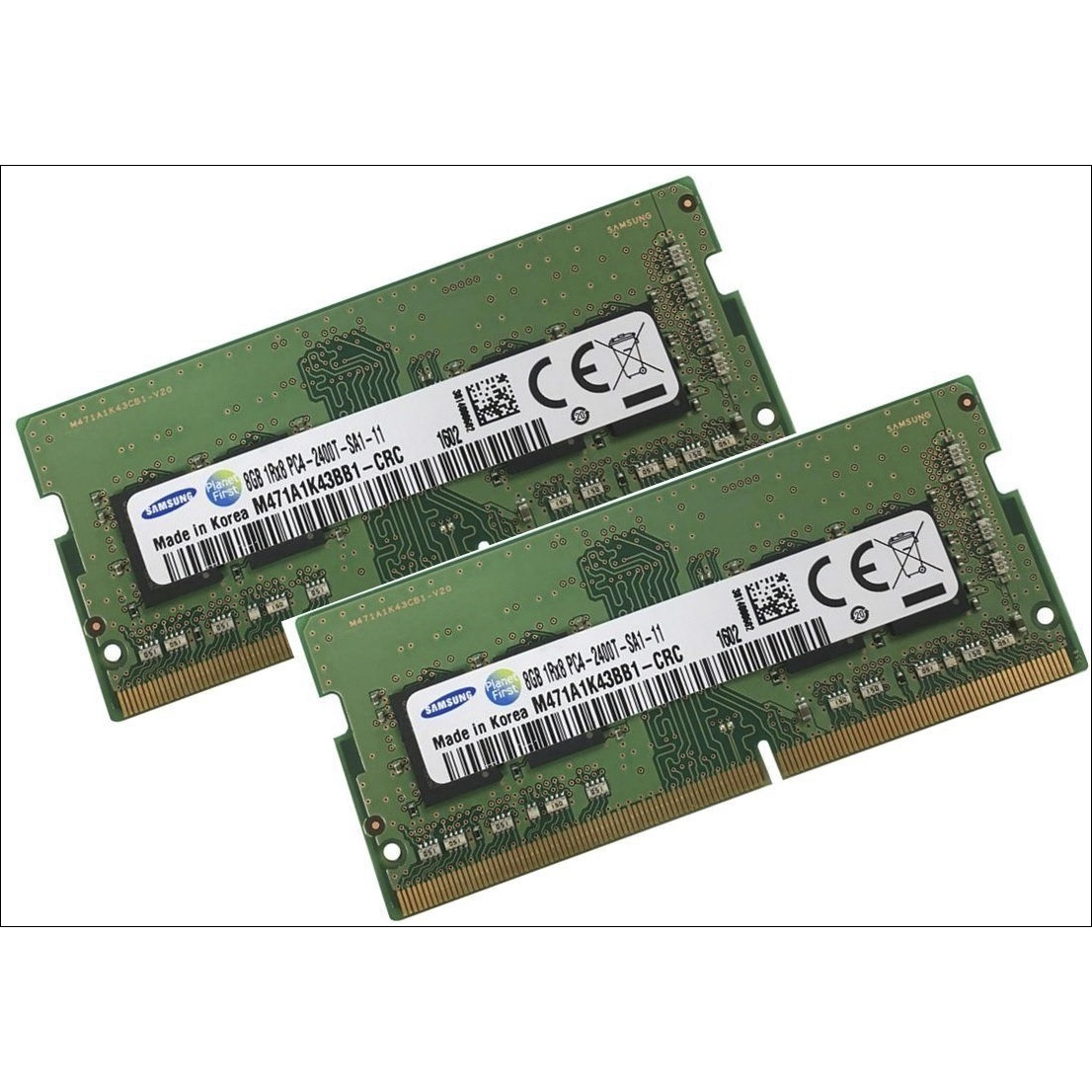 Geheugen SAMSUNG PC4-19200S DDR4 2400MHz SO-DIMM 16GB/2x 8GB iMac18,3 2017