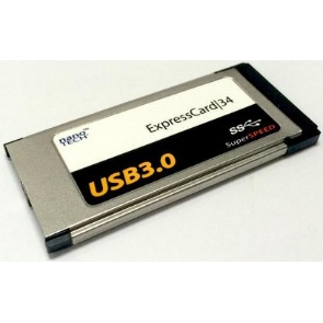 USB 3,0 ExpressCard | 34 Adapter 2 poorts SuperSpeed MacBook Pro - NIEUW