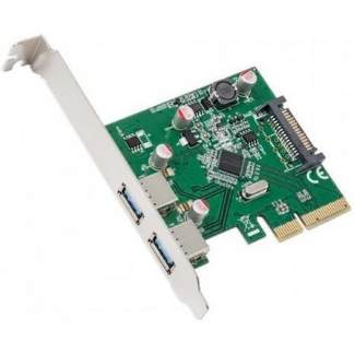 USB 3,1 Gen 2 PCIe kaart 2 poorts UASP SuperSpeed Apple Mac Pro 2008~2012
